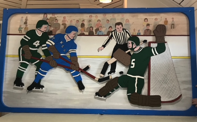 Art of hockey players
