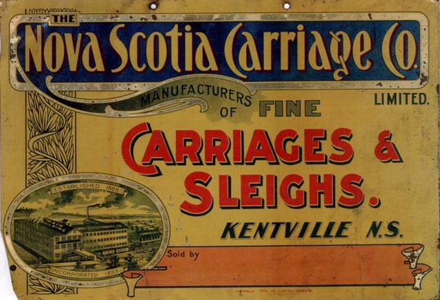 Promotional material for Nova Scotia Carriage Co.